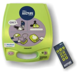 Zoll AED Plus DAE de formation version semi-automatique