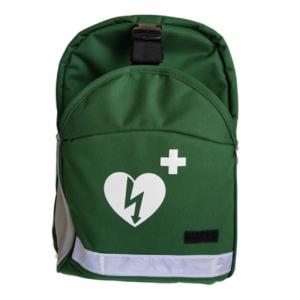 AED backpack (universeel) groen