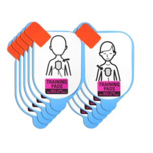 Defibtech électrodes de formation pédiatriques (5 paires)